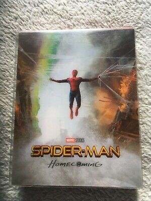 Blu fans Spider-Man Homecoming Lenticular steelbook with magnet very rare