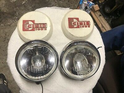 Vintage Cibie Long Range Spot Lights With Covers