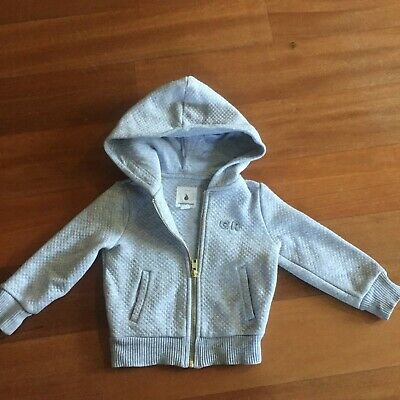 RRP $50 Country Road quilted hoodie, 24 months
