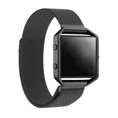 Milanese Magnetic Stainless Steel Wrist Band Strap for Fitbit Blaze Smart Watch