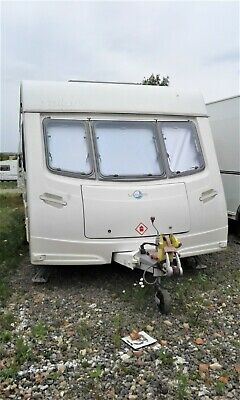 lunar solaris 2 twin axle caravan with fixed bed in good condition ready to go.
