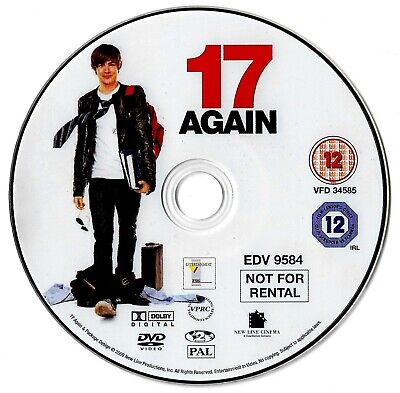 [DISC ONLY] 17 Again DVD Comedy Zac Efron