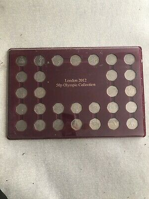 Full Collection of London 2012 Olympic Coins (50p's) And Nearly Another Full Set