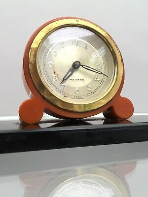 1930s Mercedes bakelite clock Art Deco antique Original