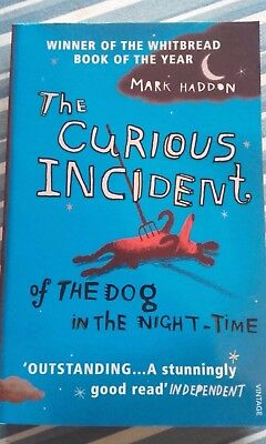 The Curious Incident of the Dog in the Night Mark Haddon Vintage Paperback Book