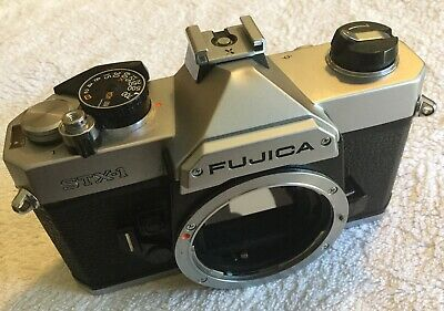 FUJICA STX-1 35mm FILM CAMERA BODY in GOOD CONDITION and FULL WORKING ORDER