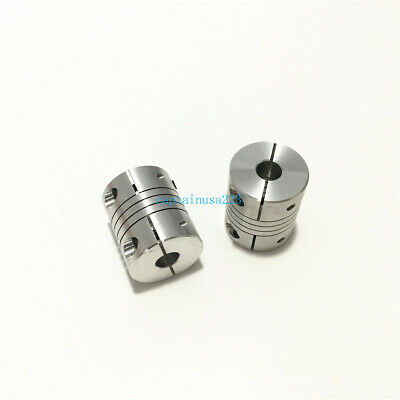 1pc Flexible Coupling Shaft Coupler BR 3 4 5 6 6.35 7 8mm D20 L25 CNC 3D Printer