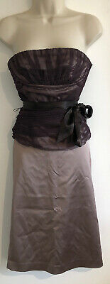 Coast Size 10 Skirt And Top In Plum