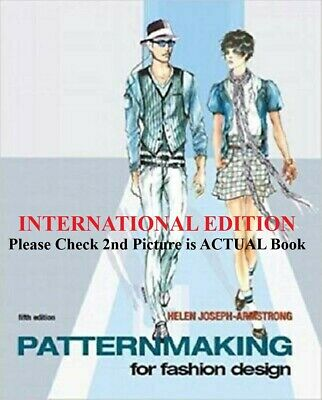 4DAYS DELIVERY- Patternmaking for Fashion Design-Armstrong, 5TH INTERNATIONAL ED