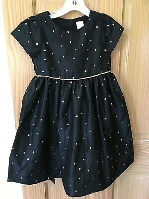 Gymboree Holiday Shine Gold Shimmer Dot Dress Christmas Formal 12-18 mos/& UP NEW