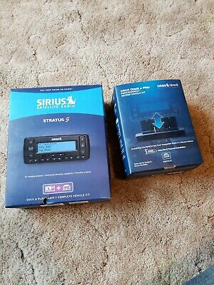 Portable SiriusXM Stratus 5 Vehicle Kit / Docking Car Sirius XM Satellite Radio