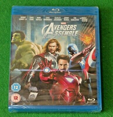Avengers Assemble - Blu-Ray - Marvel - Region-free - Brand New and Sealed