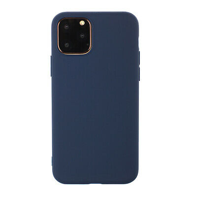 For iPhone 11 Pro Max Shockproof  Frosted Matte Candy Soft Silicone Case Cover