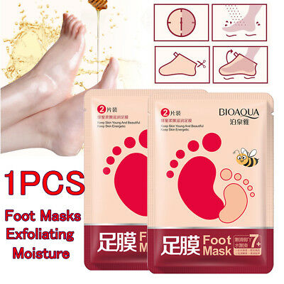 Exfoliating Peel Baby Soft Foot Mask Remover Feet Moisture Hard Dead Skin Callus