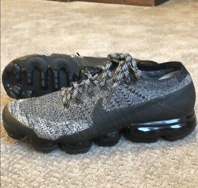Nike Air Vapormax 2.0 Mens Size 12 Flyknit Shoes Black /White OREO 849558-041