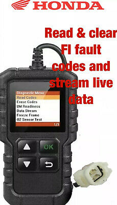 HONDA MOTORCYCLE CBR650R Onwards 4 PIN DIAGNOSTIC TOOL, OBD  FI SCANNER