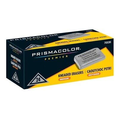 Prismacolor Kneaded Rubber Erasers small each [PACK OF 48 ]