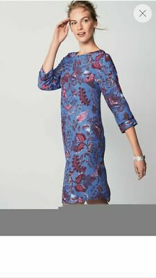 Next Blue And Pink Floral Dress Size 20  Bnwt Brand New With Tags