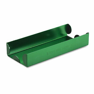 Aluminum Green Roll Tray For 100 Wrapped Dimes Corrosion Resistant Durable