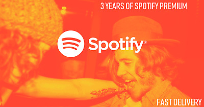 🔥Spotify Premium🔥 3 YEAR / 36 Months 🔥Instant Delivery🔥