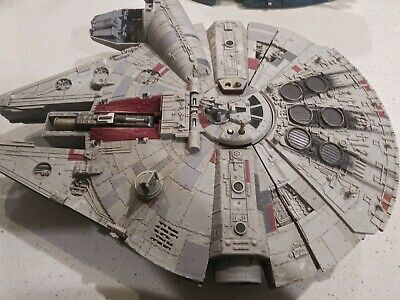 Star Wars The Force Awakens Millennium Falcon Battle Action for parts