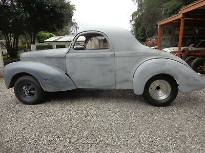 Willys 1941 Coupe Gasser Suit Hot Rod Rat Rod Project Chev Ford Drag Car