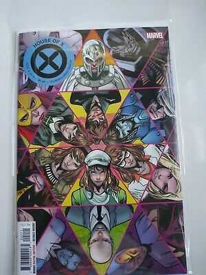 House Of X #2 Of 6 Marvel Comic Book Aug 2019 First Print Hickman