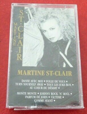 Cassette Audio Martine St-Clair Selftitled ! Select Canada Records Album