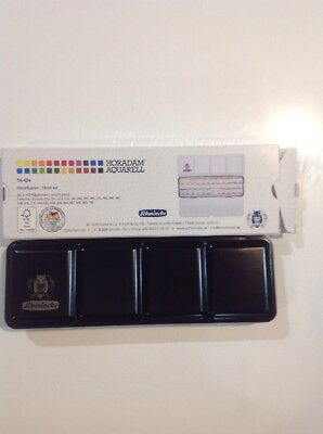 Watercolor Set 24 half Pans Schmincke Horadam Aquarell  Artist/Painters Gift