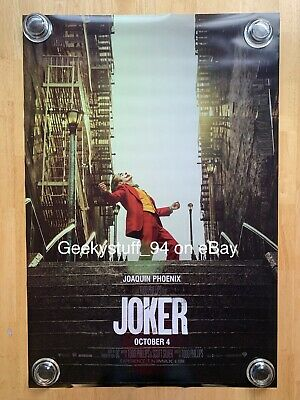 Joker DS Theatrical Movie Poster 27x40