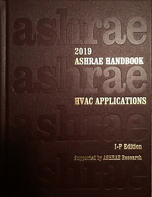 2019 ASHRAE Handbook - HVAC Applications (I-P)