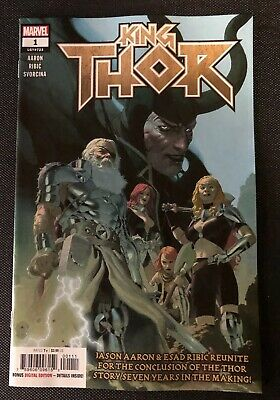KING THOR #1 - Main Cover - Marvel Comics 2019 NM