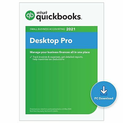 QuickBooks Desktop  Pro 2020  Accounting Software for Small Business - 3 User...