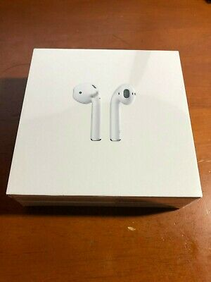 NEW Sealed Genuine Apple AirPods 2nd Gen w/Charging Case MV7N2AM/A White