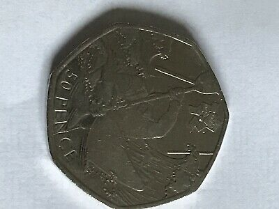 OLYMPIC 50P COIN Kayaking / Canoeing Circulated Coin.