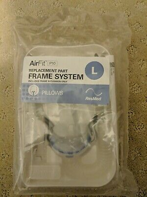 Genuine RESMED Airfit P10 Large Frame SYS #629223  Factory Sealed  BRAND NEW