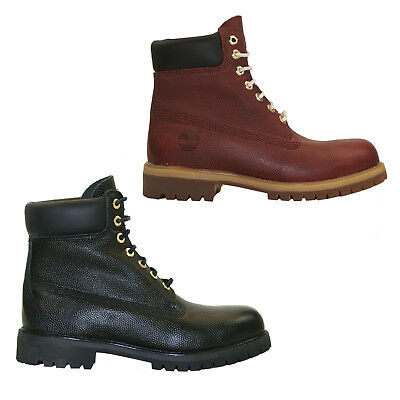 TIMBERLAND EXPLORIOUS BURGUNDY Exotic Reptile Leather