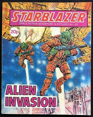 STARBLAZER, Space Fiction Adventure in Pictures - 122, 1984, GB, FN+