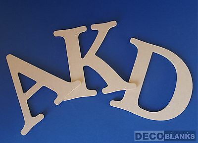 4mm MDF Wood Letters & Numbers Height 80 100 120 150 200mm 8 10 12 15 20cm