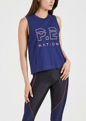 PE Nation Throw In Towel Tank S