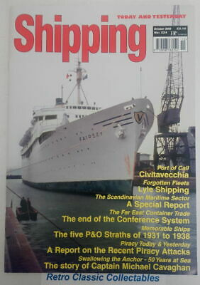 Shipping Today and Yesterday - No.224 - October 2008