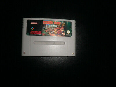 SNES - donkey kong country - cart