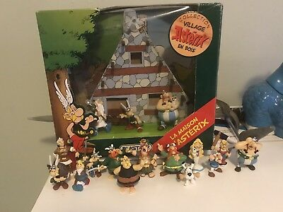 Asterix Village Set With Figures