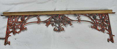 ancien garde corps fonte fenetre art nouveau antique window guard n°2