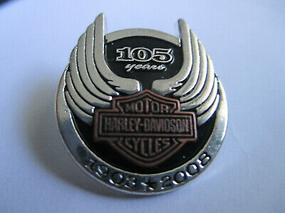 Harley Davidson 105 Years 1903-2008 Pin