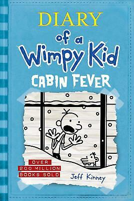 Cabin Fever (Diary of a Wimpy Kid #6) by Jeff Kinney (English) Hardcover Book Fr