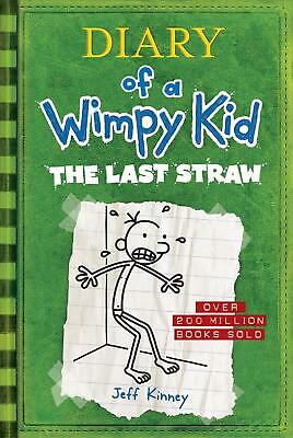 The Last Straw (Diary of a Wimpy Kid #3) by Jeff Kinney (English) Hardcover Book