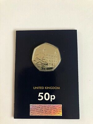 2019 UNCIRCULATED PADDINGTON BEAR AT The Tower 50P COIN Not In Full Circ