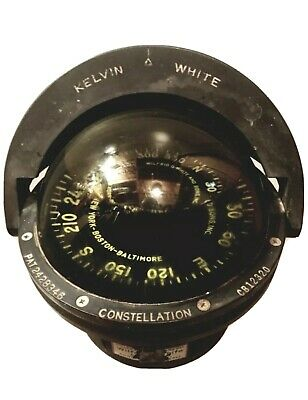 Wilfrid White and Sons Marine Compass