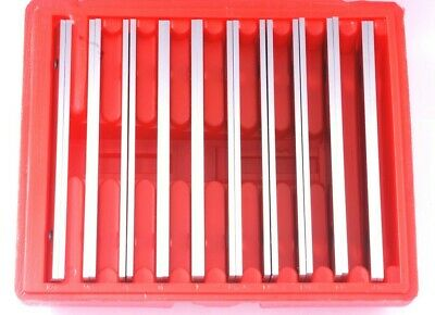 """Thin Parallel Set 1/8 X 6"""" 10 Pair Tolerance is parallel to 0.0003 Steel"""